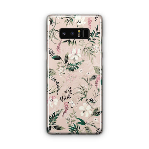 Flower Watercolor Samsung Galaxy Note 8 Case