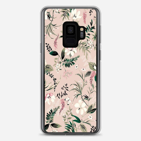 Flower Watercolor Samsung Galaxy S9 Case