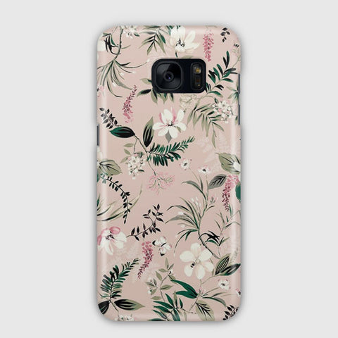 Flower Watercolor Samsung Galaxy S7 Case