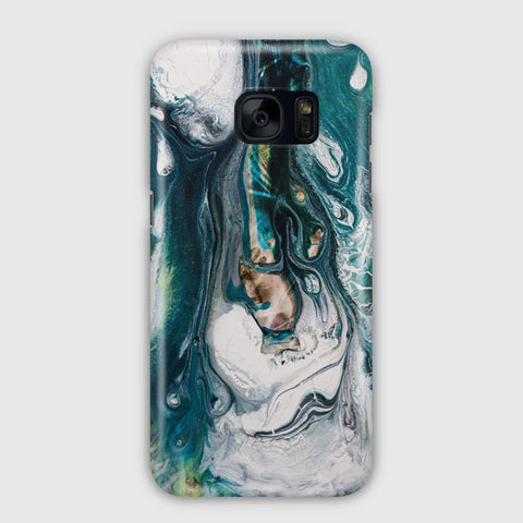 Fluid Blue Marble Samsung Galaxy S7 Edge Case