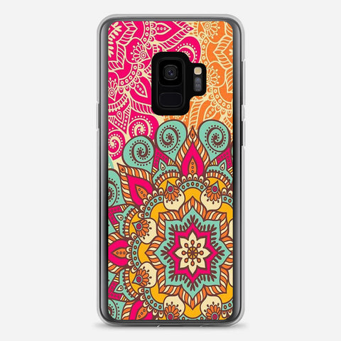 Amazingly Colored Mandala Pattern Samsung Galaxy S9 Case