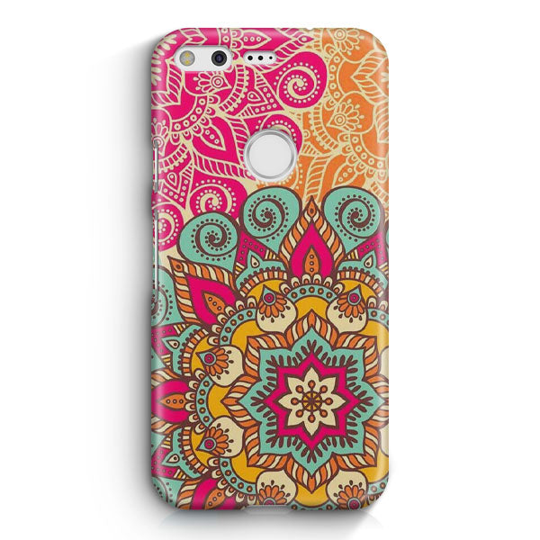 Amazingly Colored Mandala Pattern Google Pixel 2 XL Case