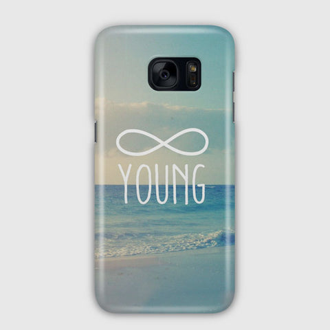Forever Young Samsung Galaxy S7 Edge Case