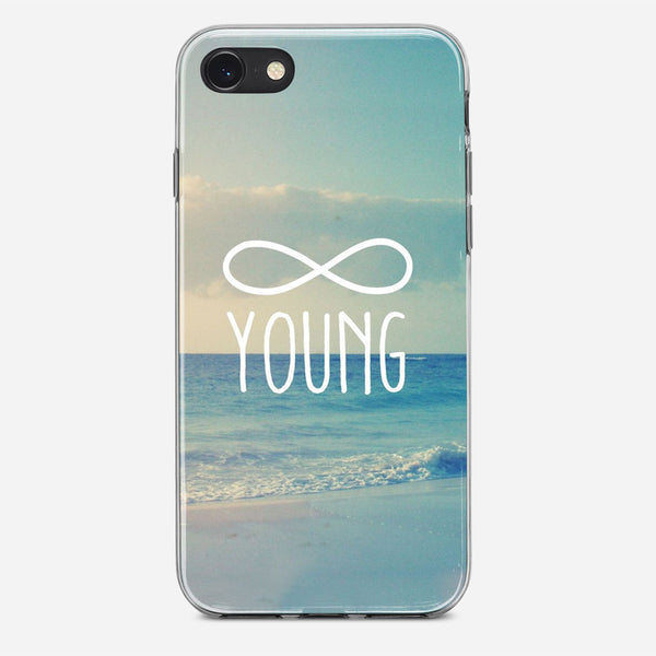 Forever Young iPhone X Case