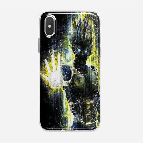 Dragon Ball Z Vegeta Bad iPhone XS Max Case