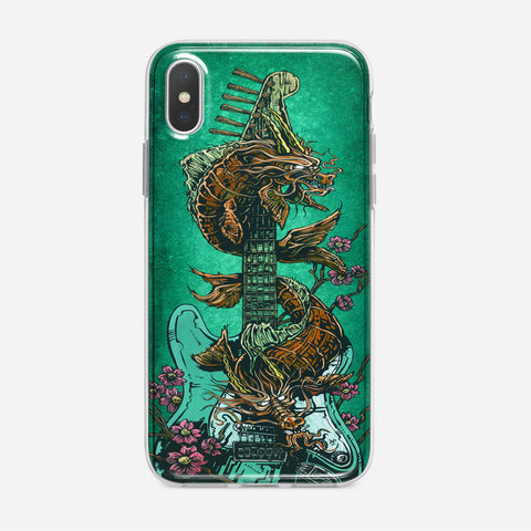 Dragon Guitar iPhone XS Max Case