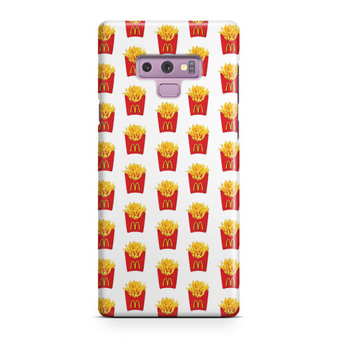 Fried Fries Pattern Samsung Galaxy Note 9 Case