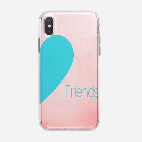 Friends Inverted Colour iPhone XS Case