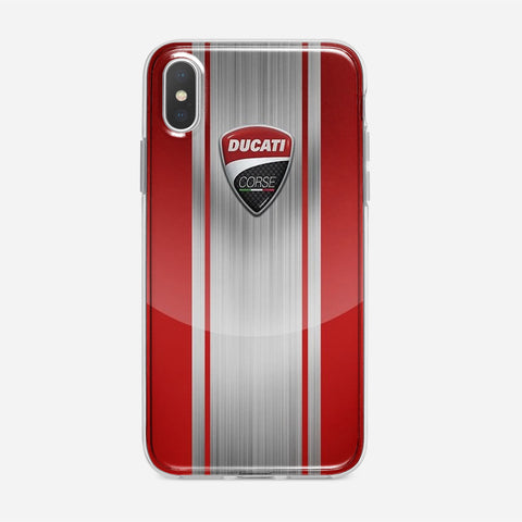 Ducati Corse Red iPhone XS Max Case