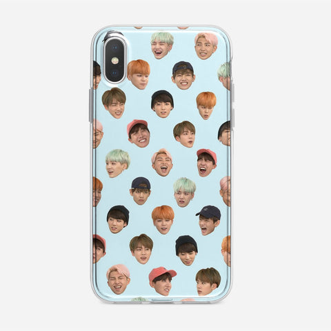 Funny BTS iPhone XS Case