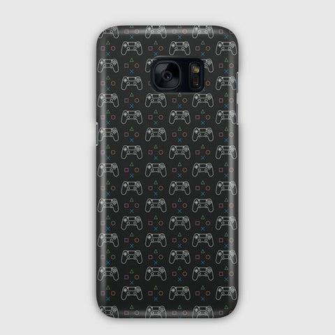 Game Contoller Artwork Samsung Galaxy S7 Edge Case