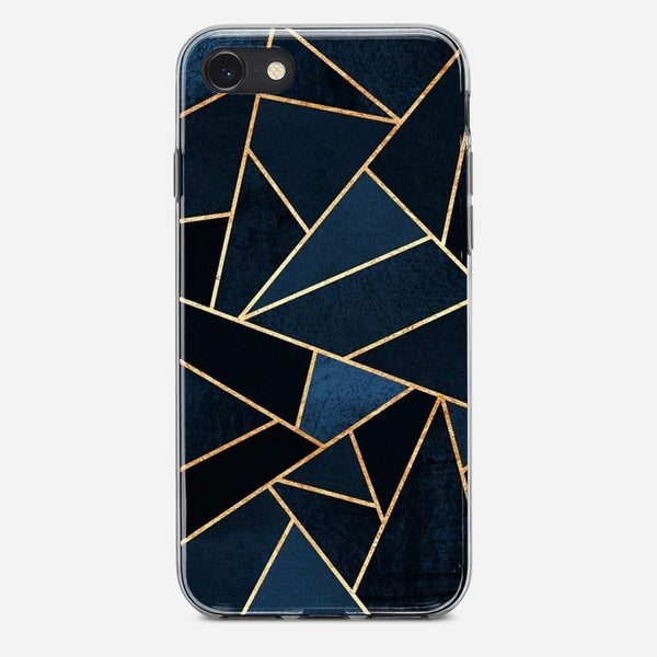 Geometric Blue Marble iPhone X Case
