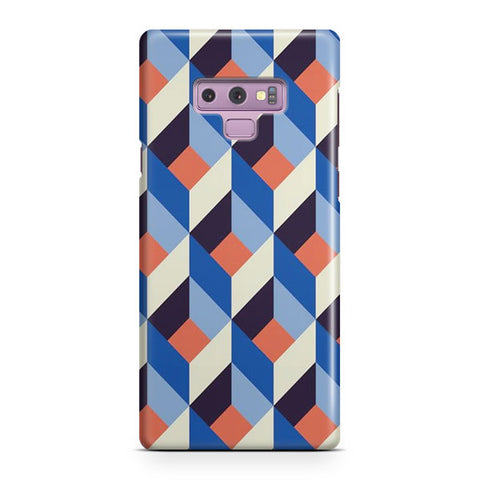 Geometric Pattern Samsung Galaxy Note 9 Case