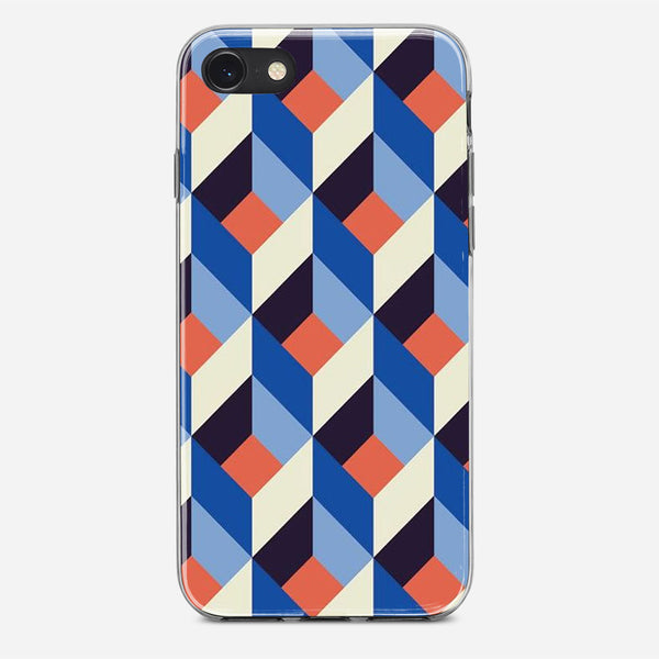 Geometric Pattern iPhone X Case