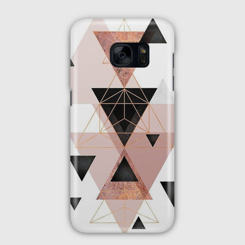 Geometric Triangles Samsung Galaxy S7 Edge Case