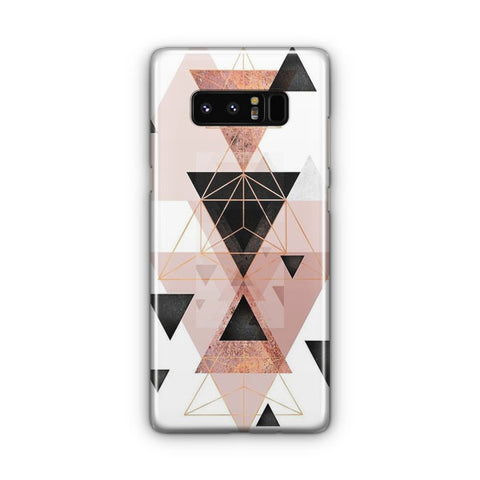 Geometric Triangles Samsung Galaxy Note 8 Case