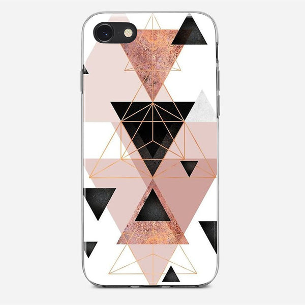 Geometric Triangles iPhone X Case