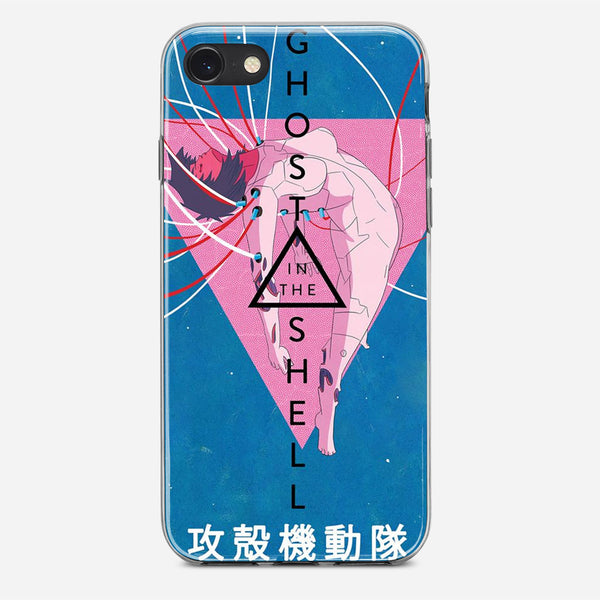 Ghost in the Shell Illustration iPhone X Case