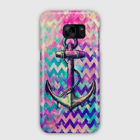 Anchor Abstract Design Samsung Galaxy S7 Edge Case