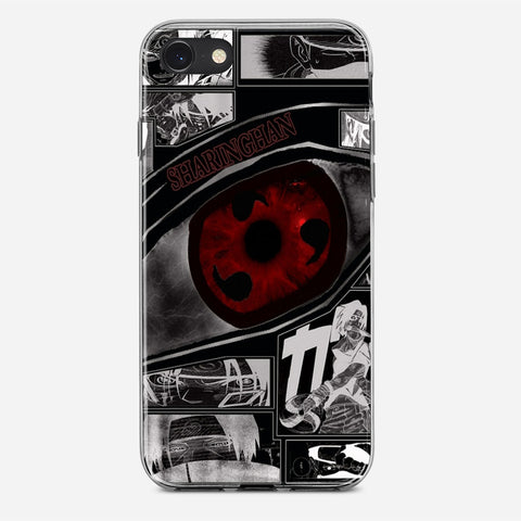 Anime Naruto Sharingan iPhone SE Case