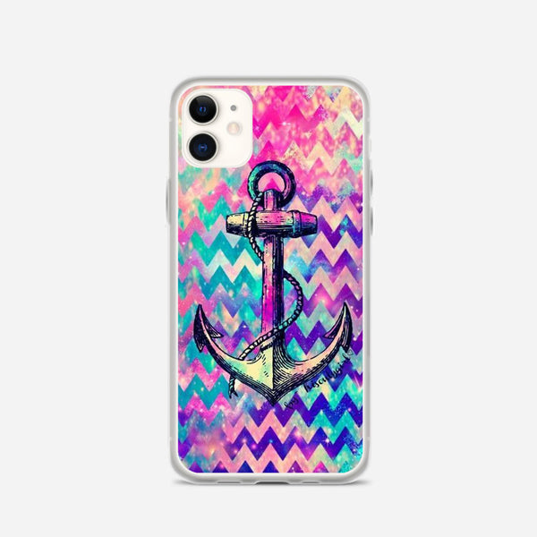 Anchor Abstract Design iPhone X Case