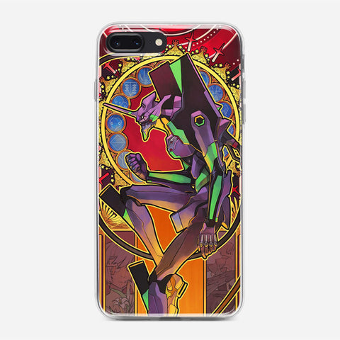 Evangelion Neon Genesis Artwork iPhone 7 Plus Case