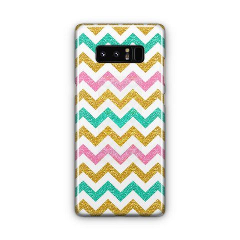 Glitter Chevron Samsung Galaxy Note 8 Case
