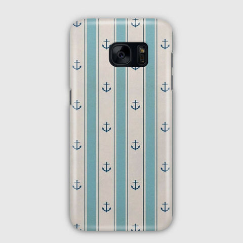 Anchor Pattern Samsung Galaxy S7 Edge Case