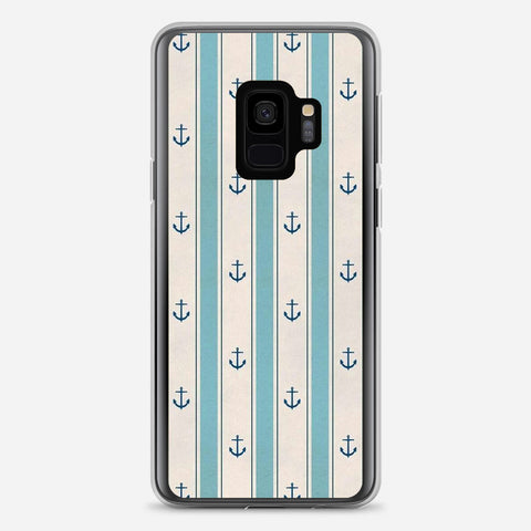 Anchor Pattern Samsung Galaxy S9 Case
