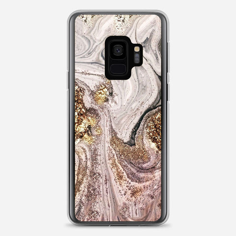 Gold Glitter Samsung Galaxy S9 Case
