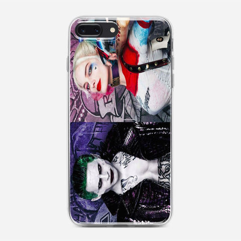 Featuring Harley Quinn And Joker iPhone 7 Plus Case