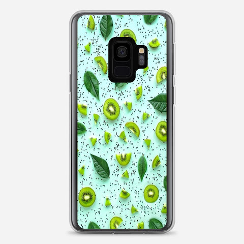 Green Fruit Pattern Samsung Galaxy S9 Case
