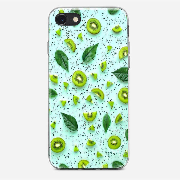 Green Fruit Pattern iPhone X Case