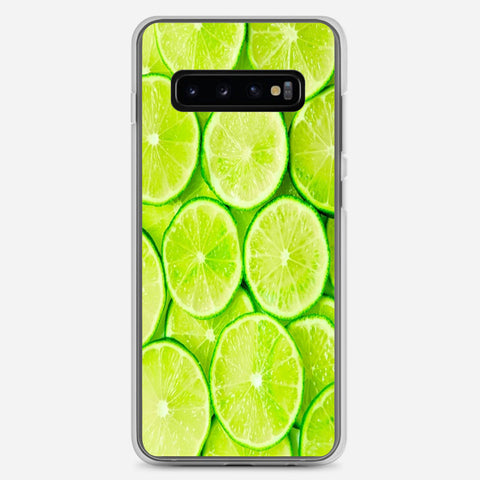 Green Lemon Samsung Galaxy S10 Plus Case