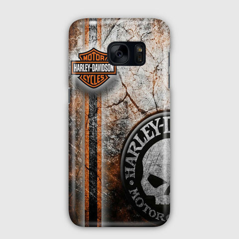 Harley Davidson Decor Samsung Galaxy S7 Edge Case