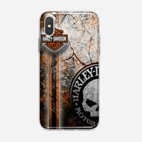 Harley Davidson Decor iPhone XS Case