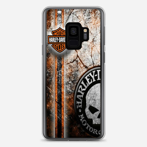 Harley Davidson Decor Samsung Galaxy S9 Case