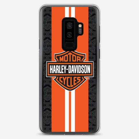 Harley Davidson Orange Racing Samsung Galaxy S9 Plus Case
