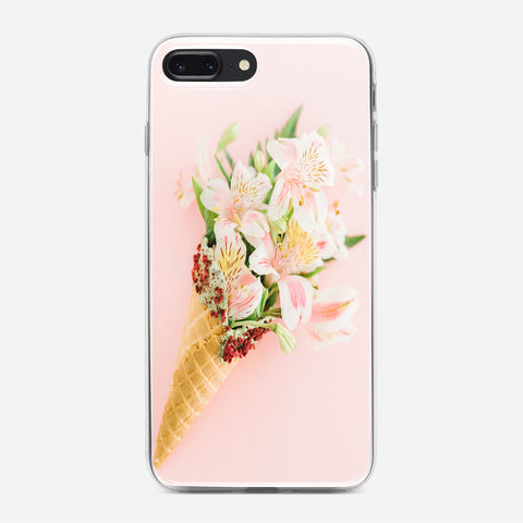 Floral Ice Cream iPhone 7 Plus Case