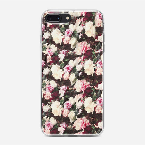 Flowers Pattern iPhone 7 Plus Case