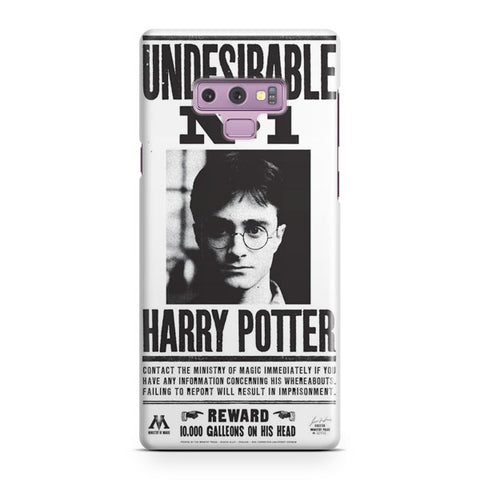 Harry Potter Undesirable Samsung Galaxy Note 9 Case