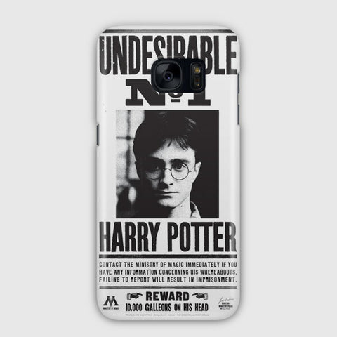 Harry Potter Undesirable Samsung Galaxy S7 Edge Case
