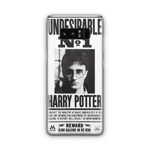 Harry Potter Undesirable Samsung Galaxy Note 8 Case