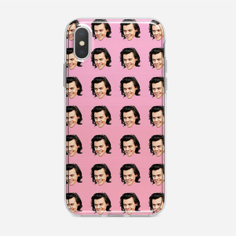Harry Styles Pattern iPhone XS Case