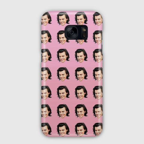 Harry Styles Pattern Samsung Galaxy S7 Edge Case