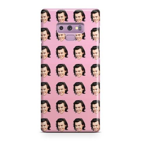 Harry Styles Pattern Samsung Galaxy Note 9 Case