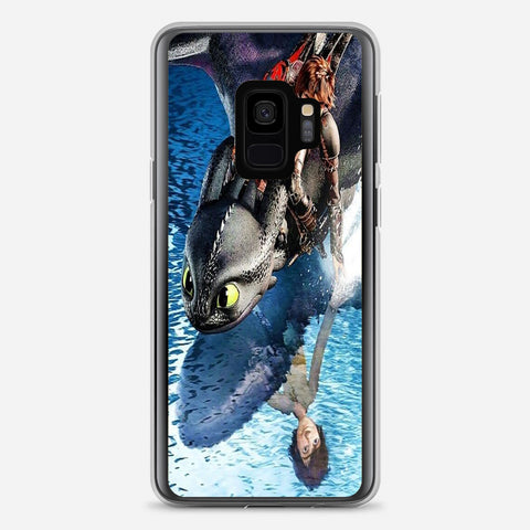 Hiccup And Toothless Samsung Galaxy S9 Case