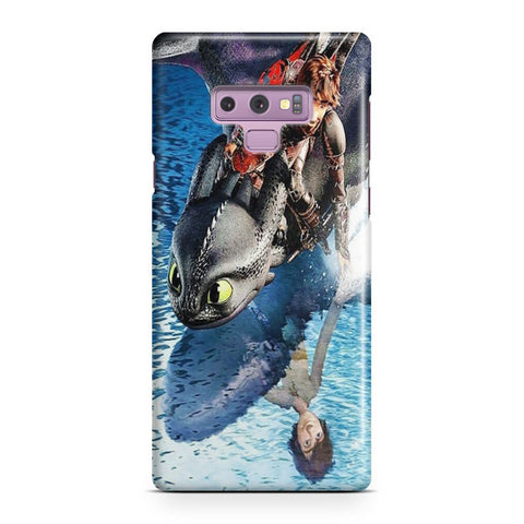 Hiccup And Toothless Samsung Galaxy Note 9 Case