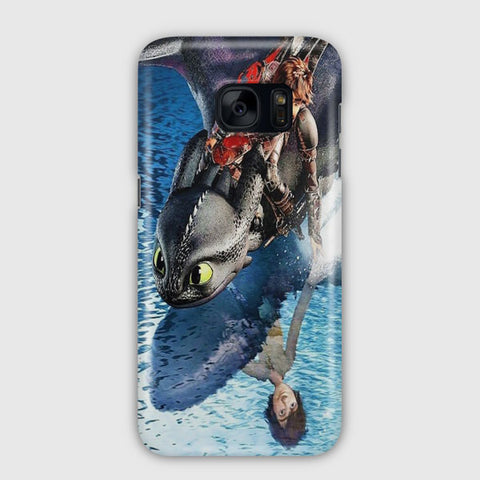 Hiccup And Toothless Samsung Galaxy S7 Case