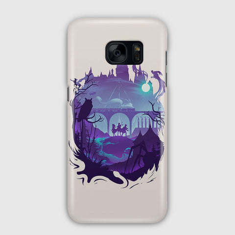 Hogwarts Harry Potter Samsung Galaxy S7 Edge Case